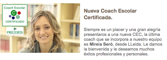 Mireia Seró Coach Escolar