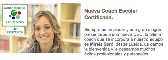 Coach Escolar Mireia Seró